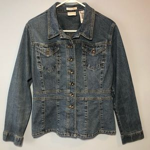 Axcess Denim Jacket Size Large